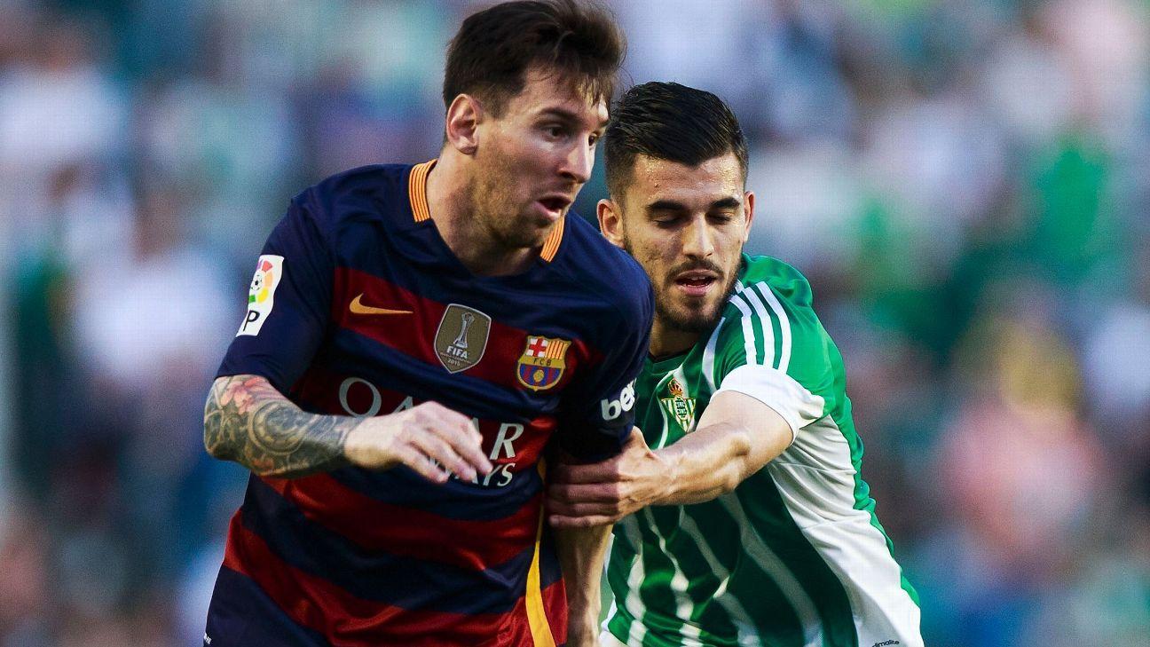 Lionel Messi v Betis