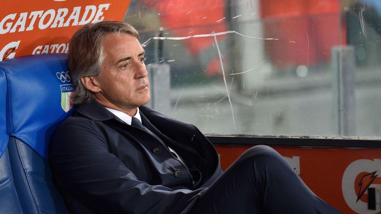 Mancini woe vs Lazio 160501