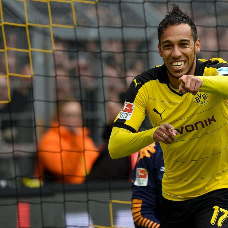 Borussia dortmund 39 s aubameyang paris saint germain tried to sign e - Made in sport vitrolles ...
