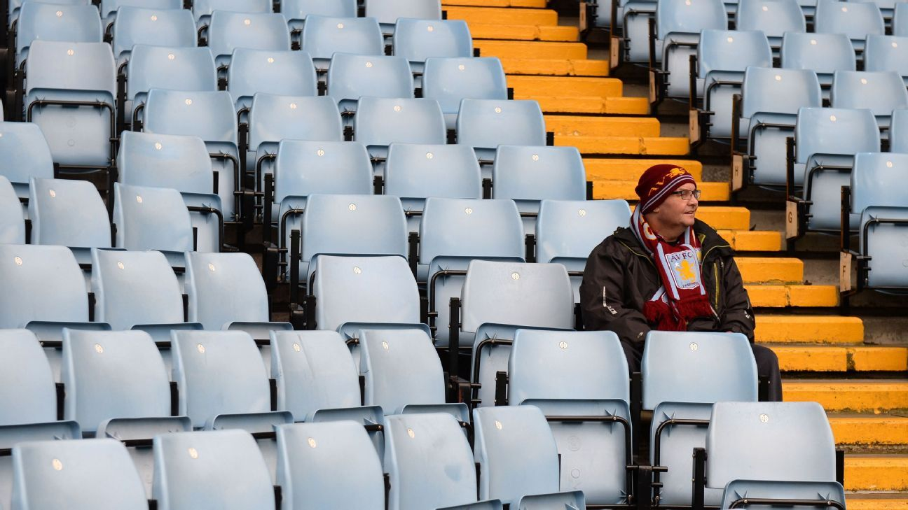 Lonely Aston Villa fan