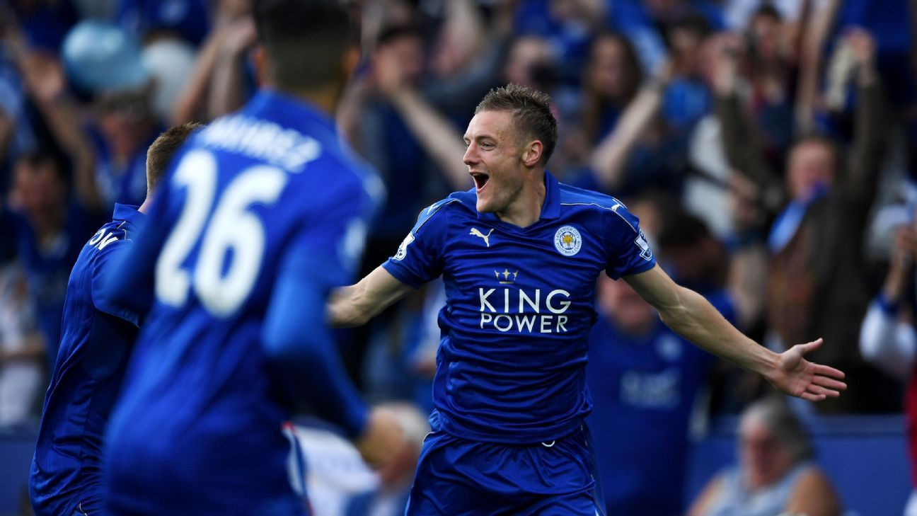 Jamie Vardy agrees Leicester contract extension to end Arsenal