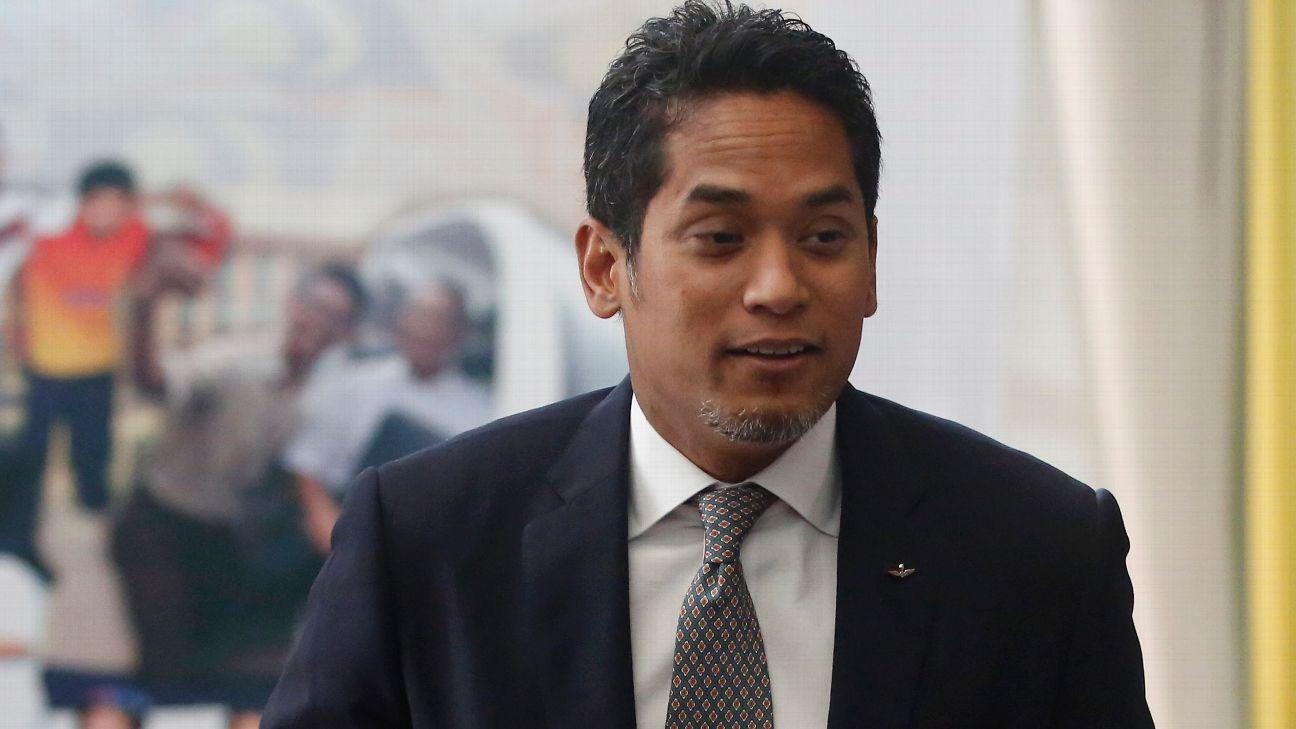 Malaysia Youth and Sports minister Khairy Jamaluddin