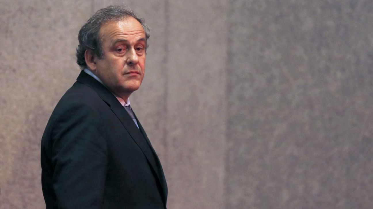 Michel Platini left his role as UEFA president in 2015.