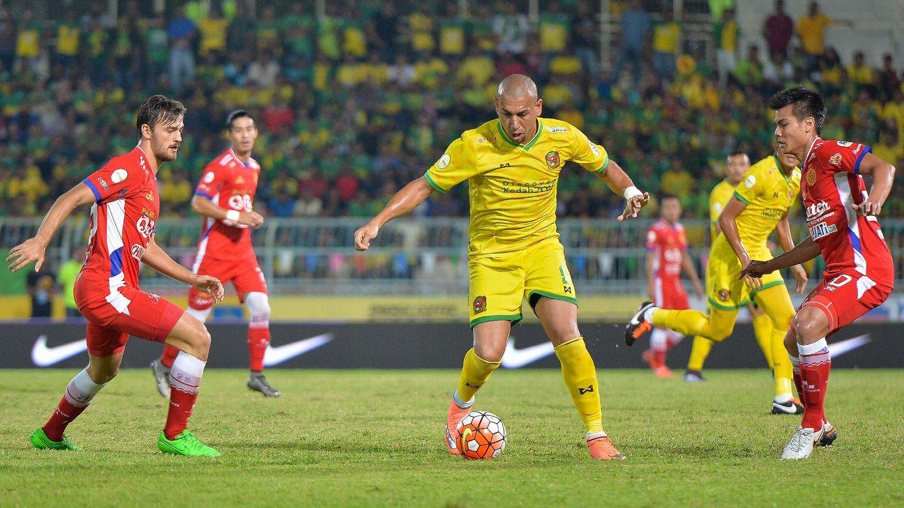 Kedah striker Carlos Kahe
