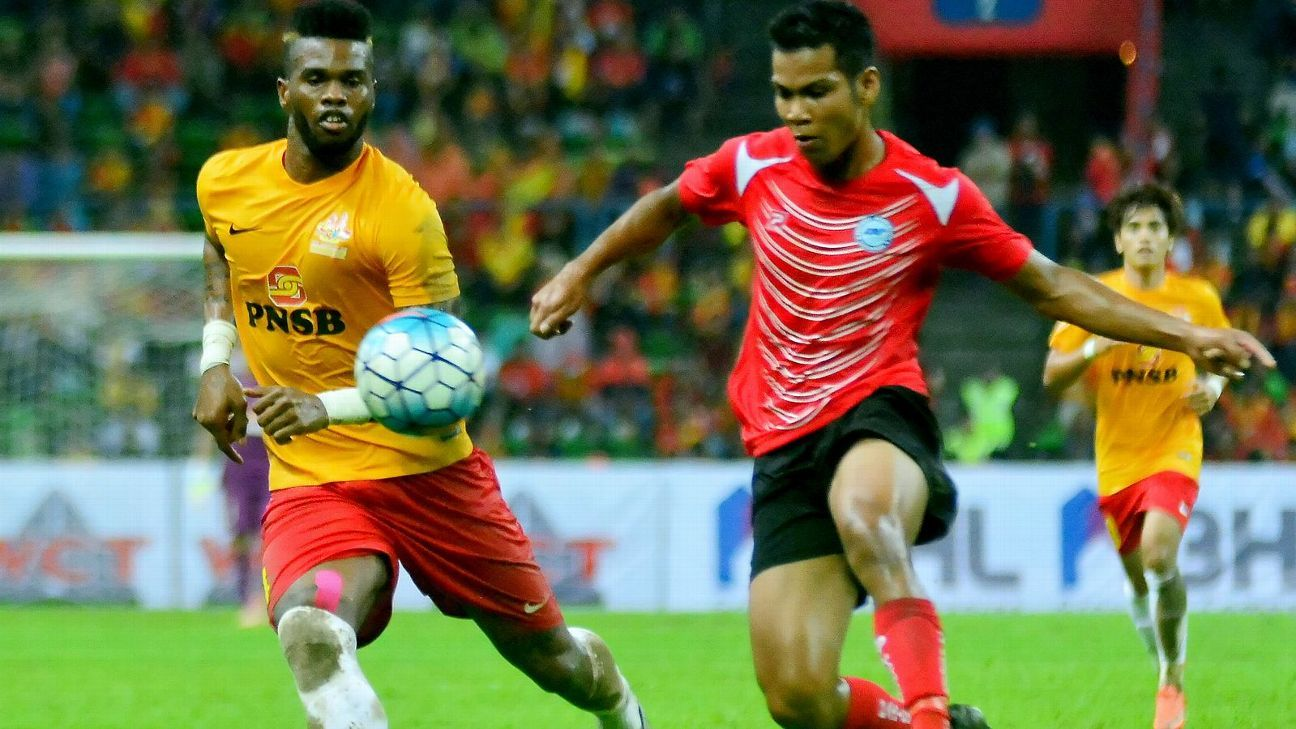 Home United's Shahrin Saberin