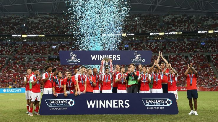Arsenal in Singapore