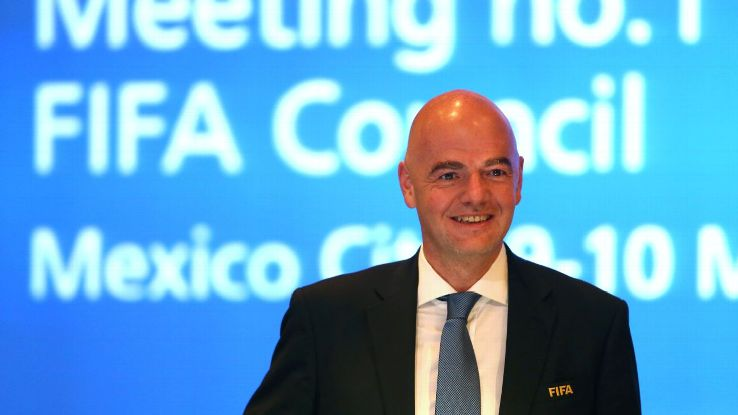 FIFA president Gianni Infantino's proposal has met with resistance.