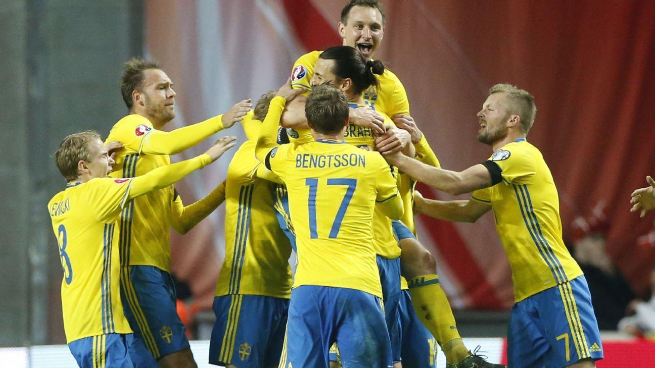 Sweden celebrates