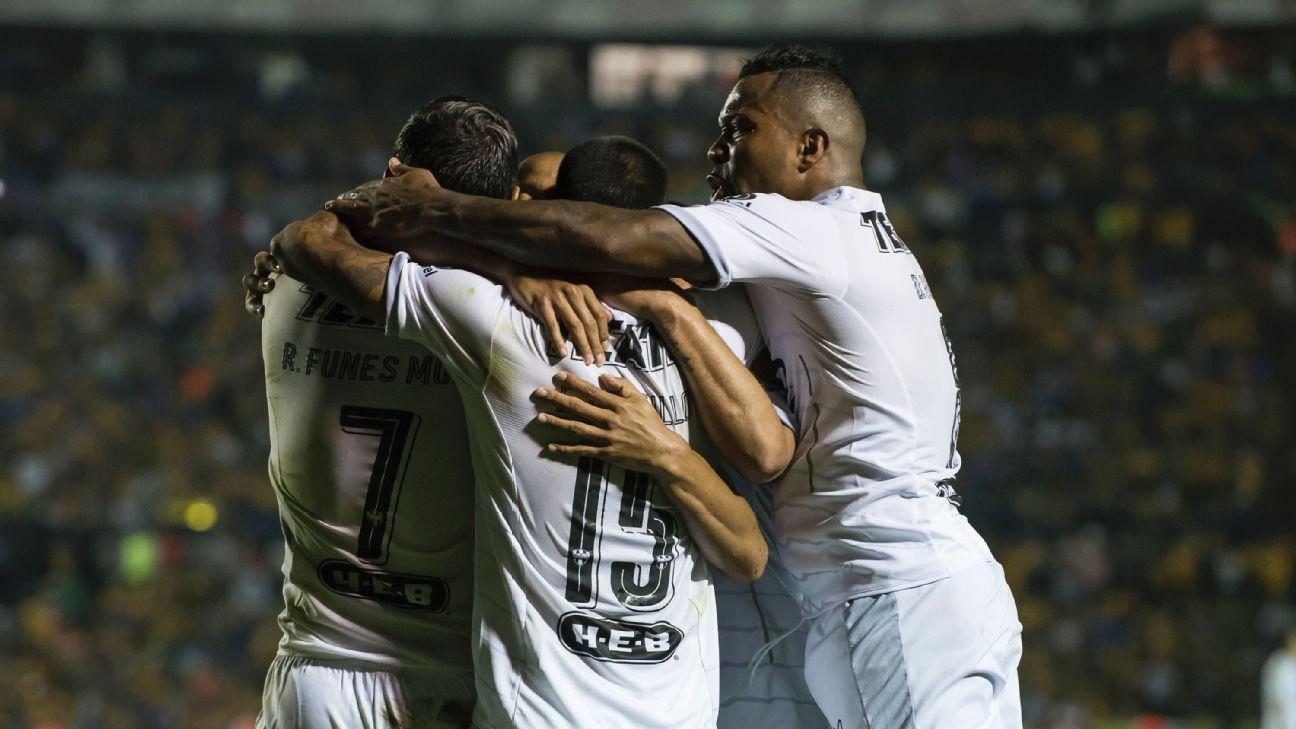 Monterrey celeb vs Tigres 160511