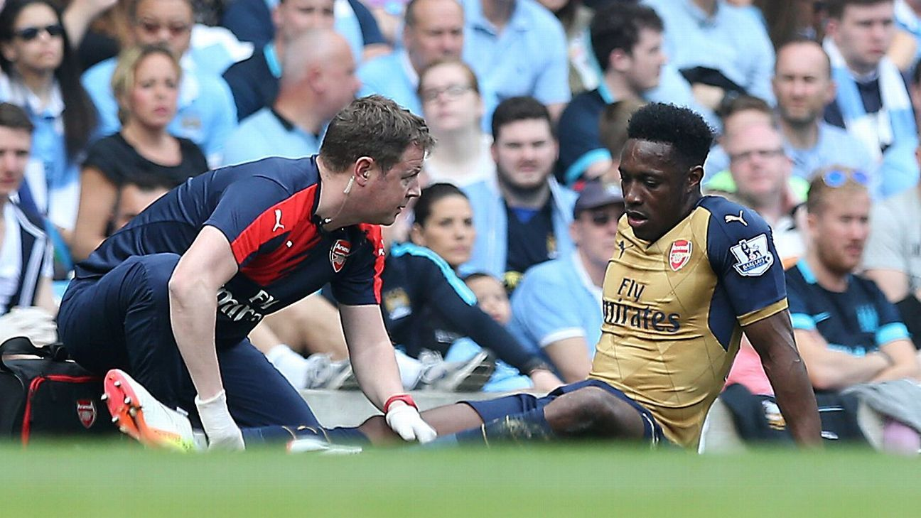 Danny Welbeck missed eight months with a knee injury.