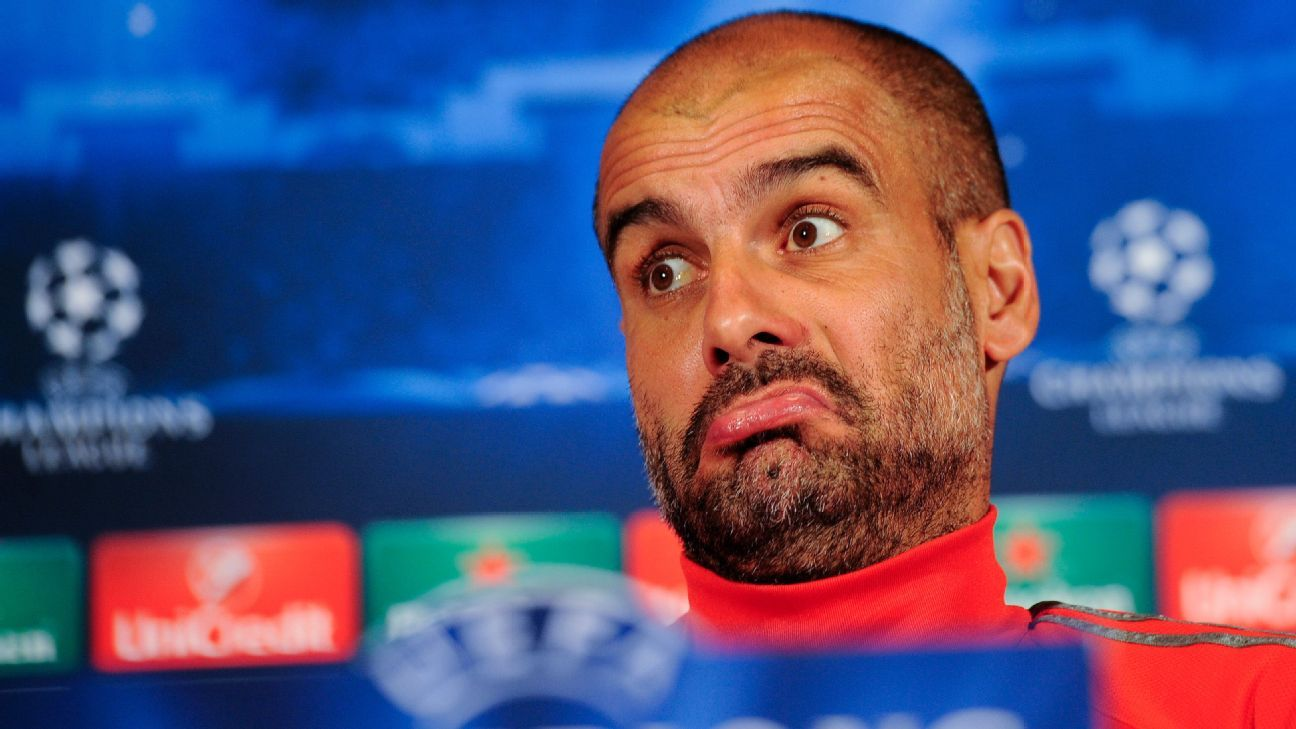 Pep Guardiola Reacts