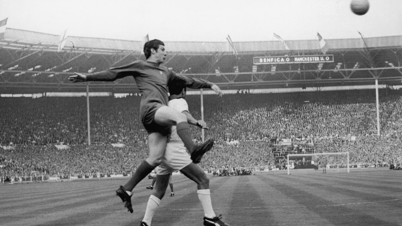 Man United v Benfica 1968