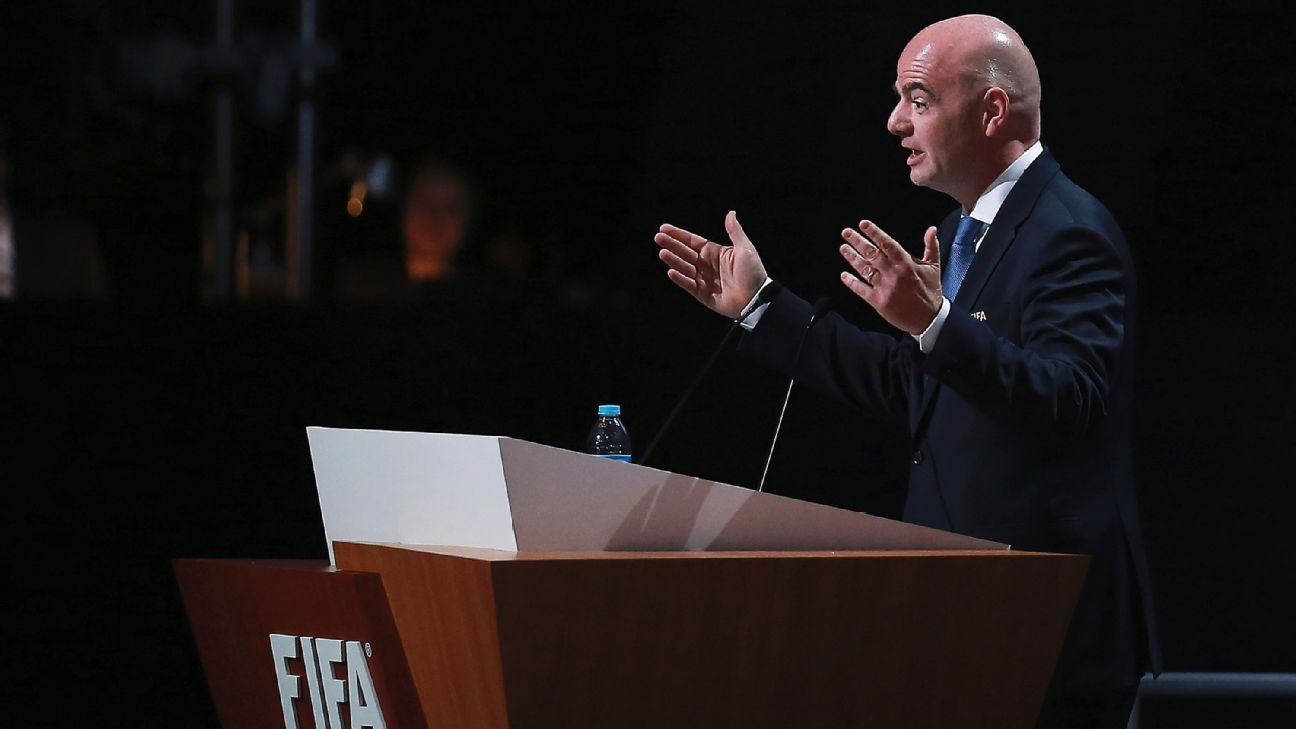 Infantino FIFA 66th Congress