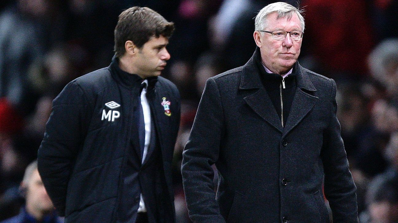 Pochettino and Alex Ferguson