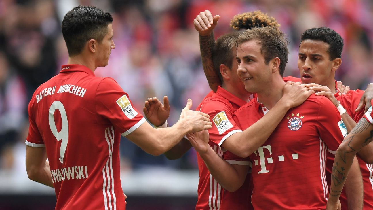 Robert Lewandowski and Mario Gotze