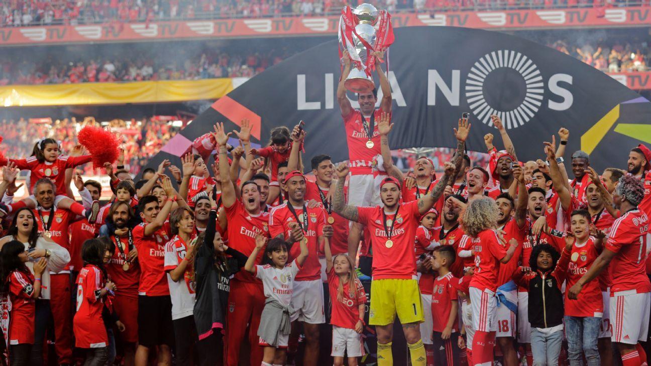 Nacional Benfica: Benfica Wrap Up Portuguese League Title With Nacional