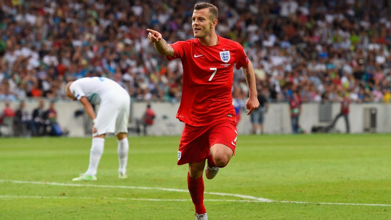 Jack Wilshere with England