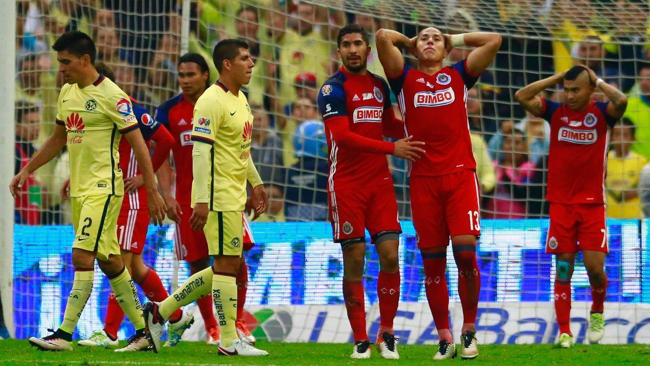 Salcedo Chivas woe vs America 160515