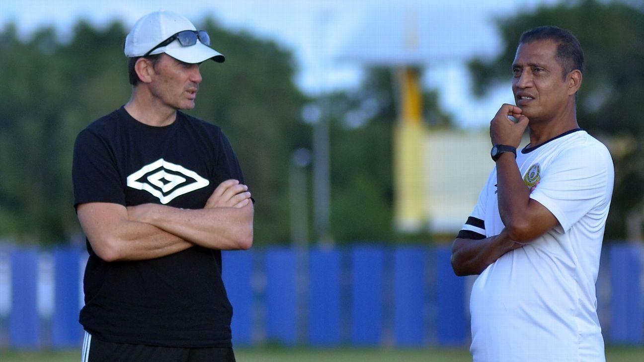 Terengganu coach Mike Mulvey
