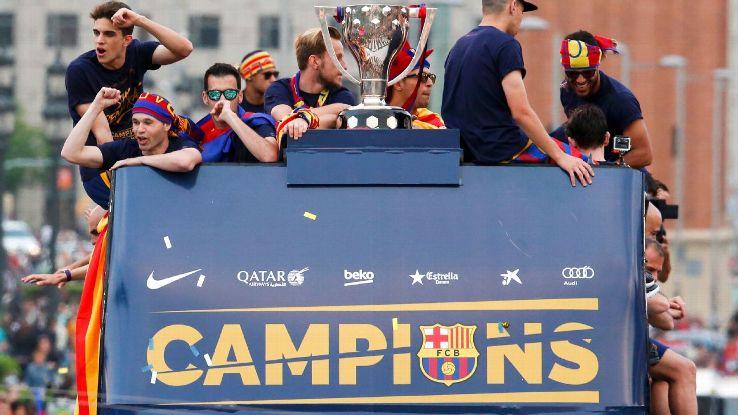 Barcelona are defending La Liga champions.
