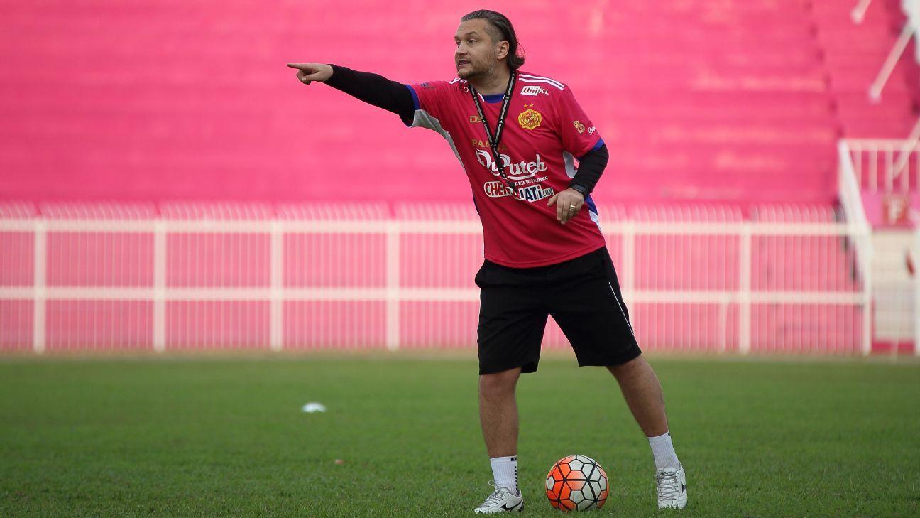 Kelantan coach Velizar Popov
