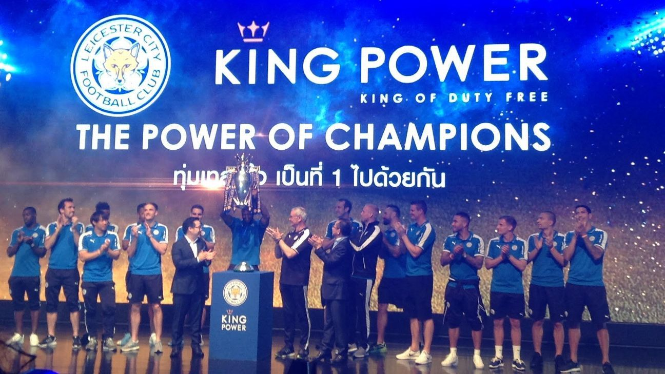 Leicester City in Thailand