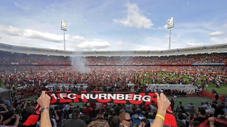 Nurnberg celebrate