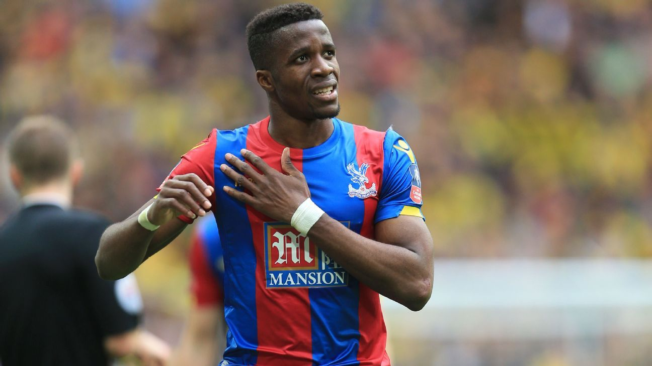 Crystal Palace's Wilfried Zaha from FA Cup