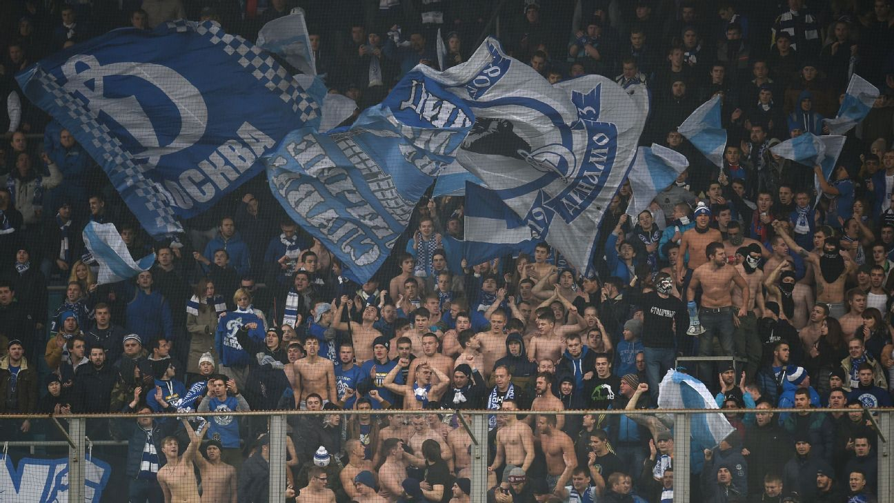 Dinamo Moscow fans