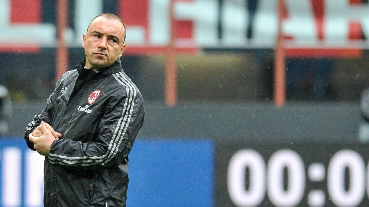 AC Milan's Cristian Brocchi