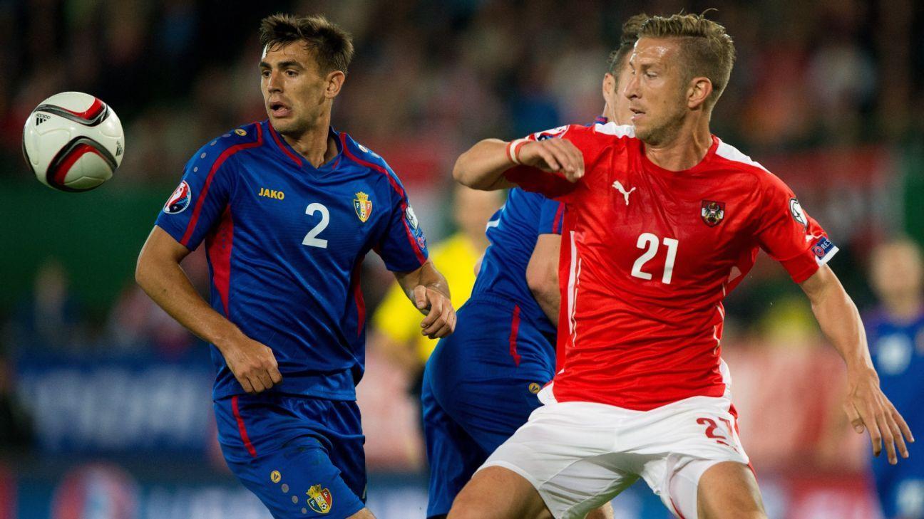 Austrian striker Marc Janko
