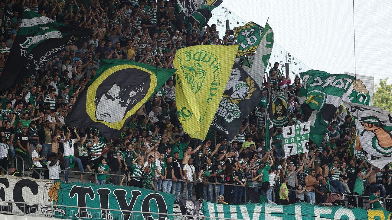 Sporting Lisbon fans