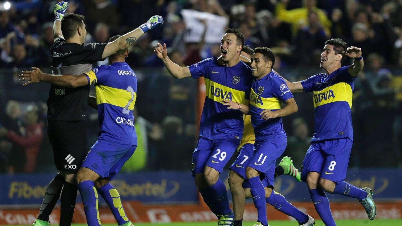 Boca Juniors vs Nacional celeb