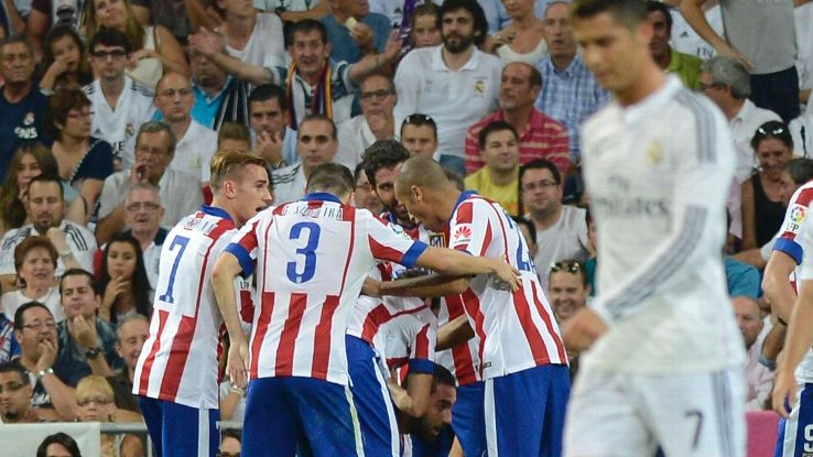 Atletico Madrid v Real Madrid sept 2014