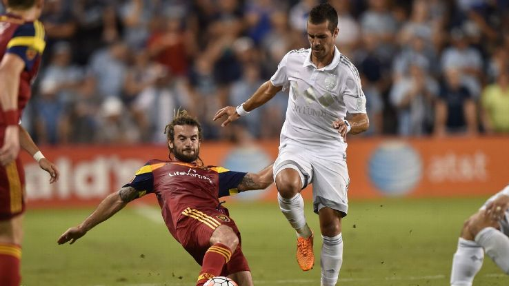 Kyle Beckerman and Benny Feilhaber