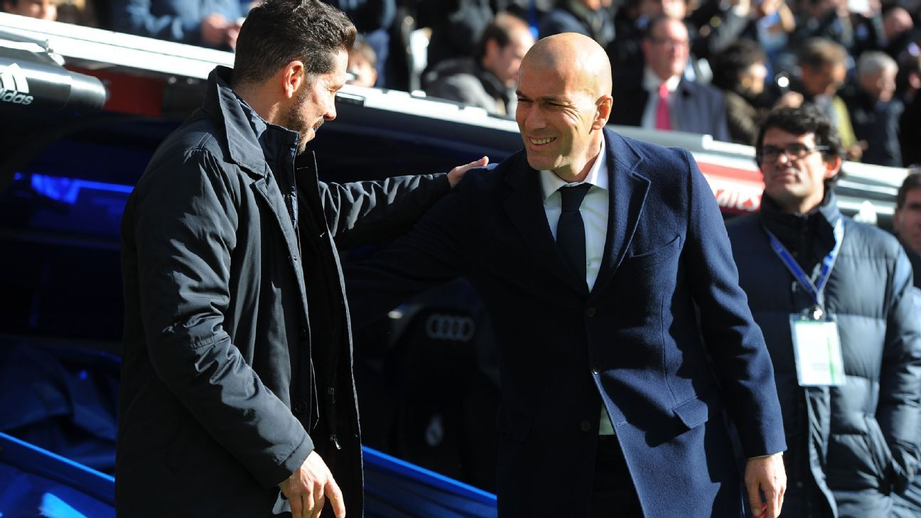 Simeone and Zidane