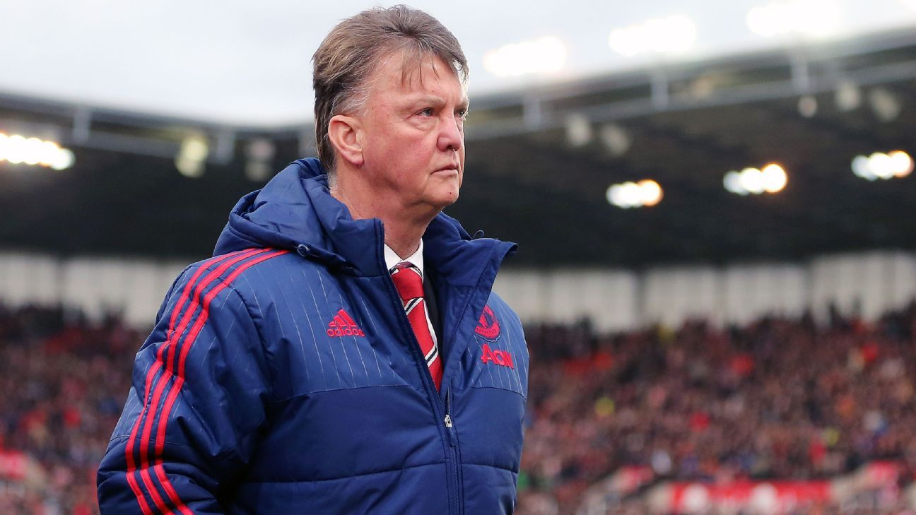 Van Gaal woe at Stoke