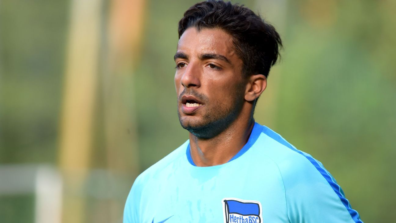 Sami Allagui of Hertha Berlin