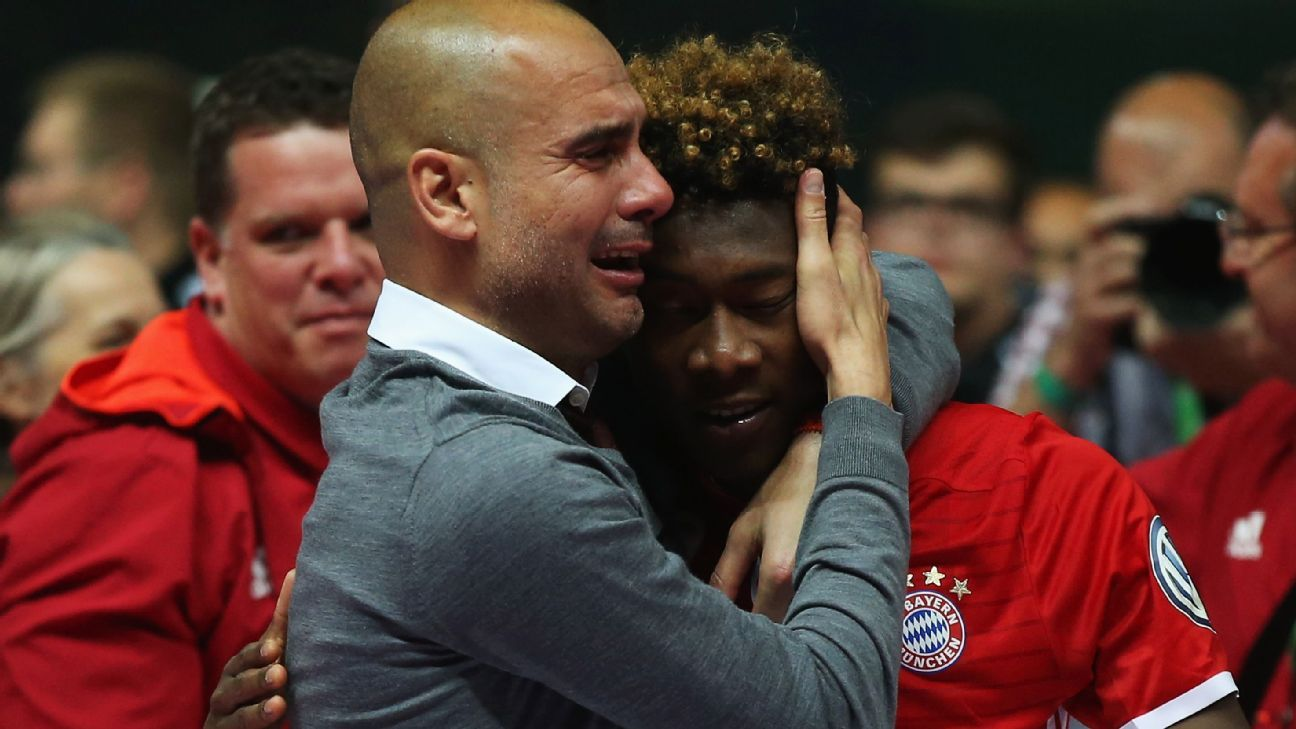 Rezultat slika za pep guardiola crying