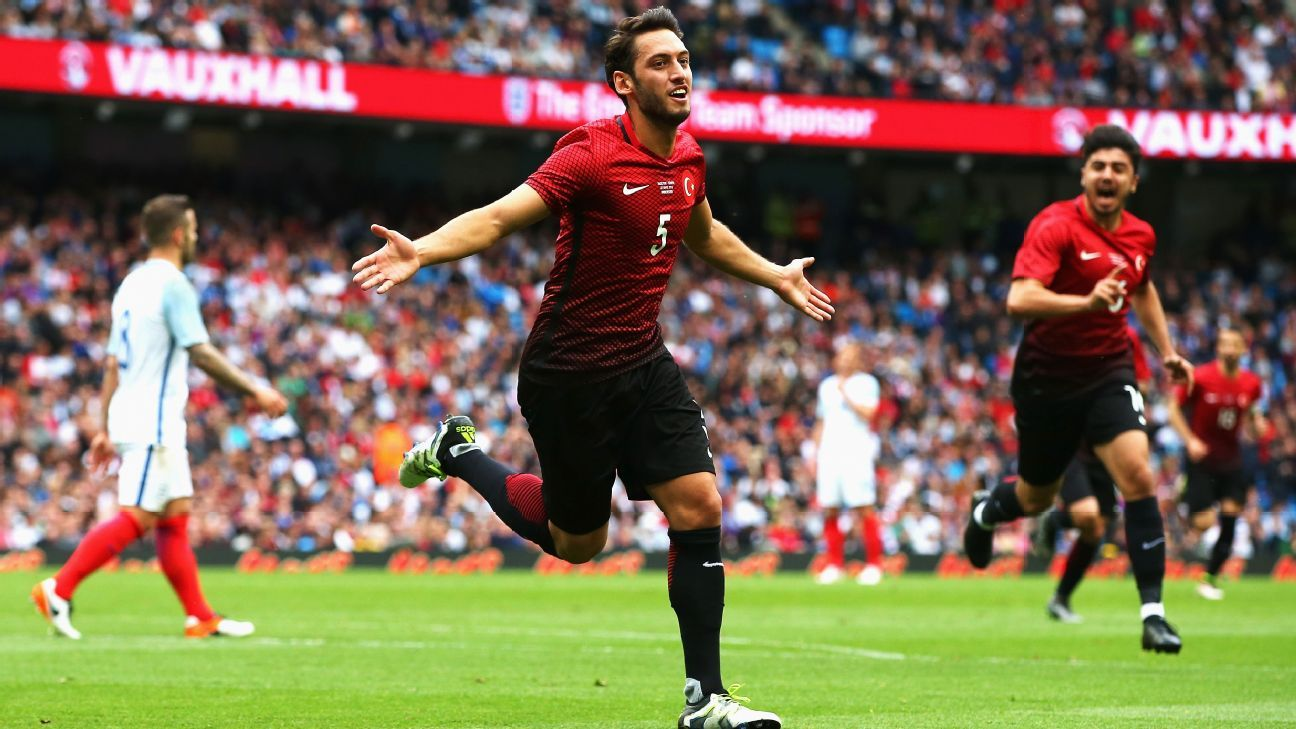 Hakan Calhanoglu and Turkey could play spoiler in Group D at the Euros.