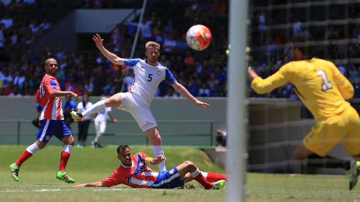 Tim Ream opened the scoring for the United States in a 3-1 win vs. Puerto Rico.