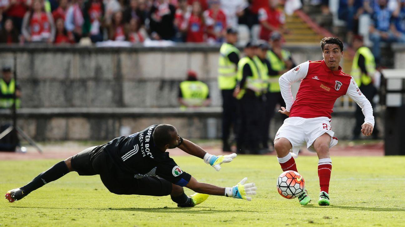 Braga midfielder Josue