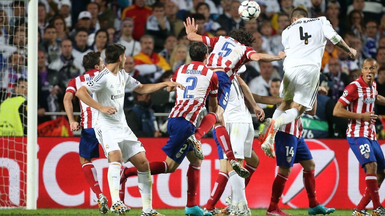 Sergio Ramos header 2014 UCL final