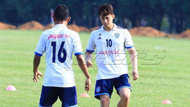 JDT striker Darren Lok