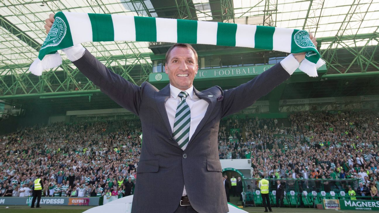 Celtic's unveiling of Brendan Rodgers