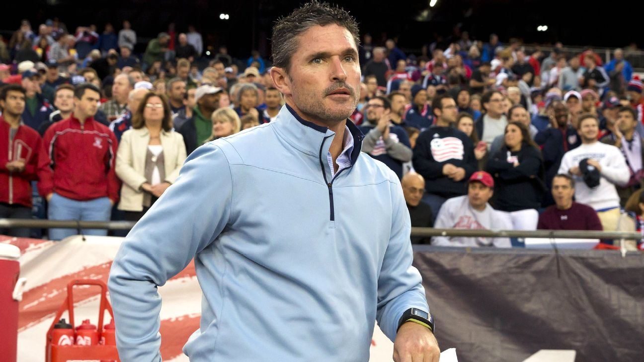 Jay Heaps sacked as New England Revolution manager - sources