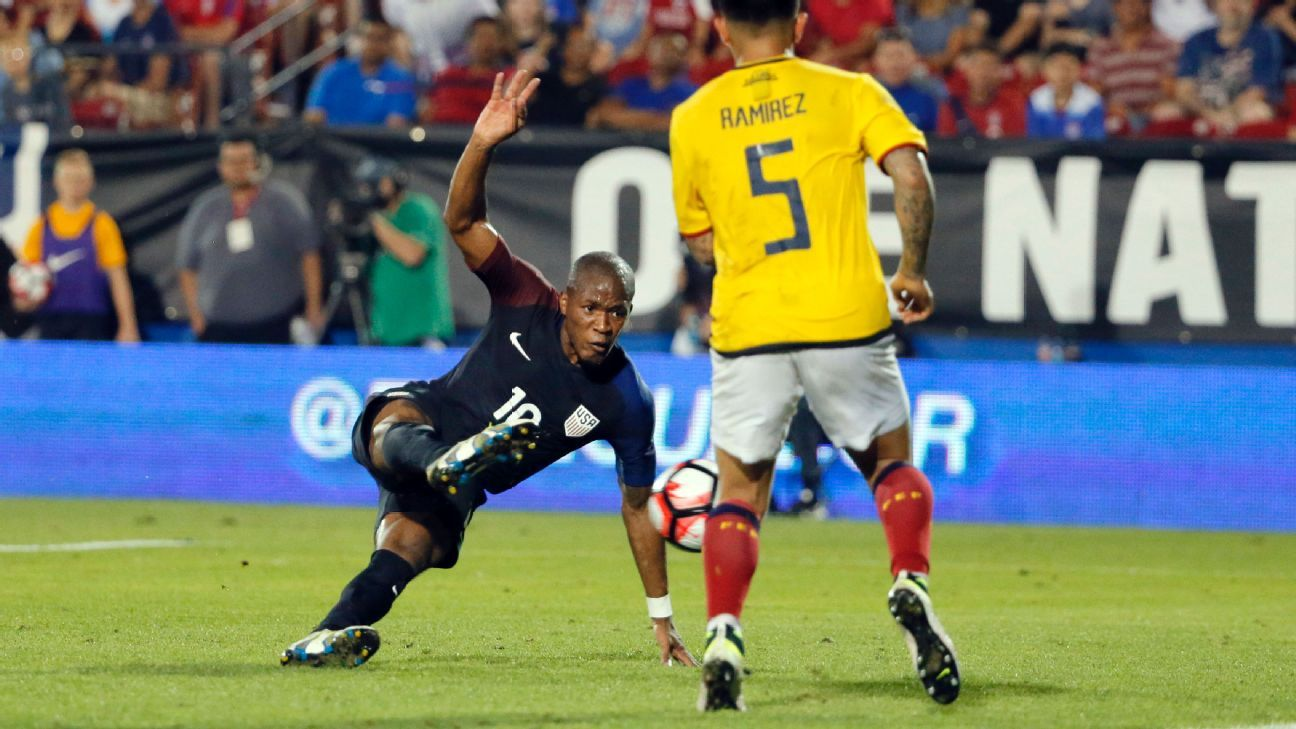 Nagbe winner vs Ecuador 160525