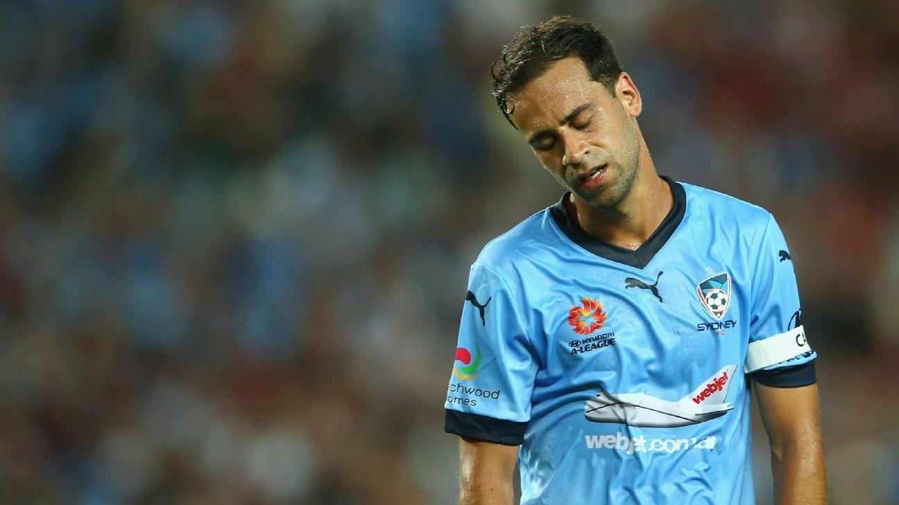 Sydney FC's Alex Brosque