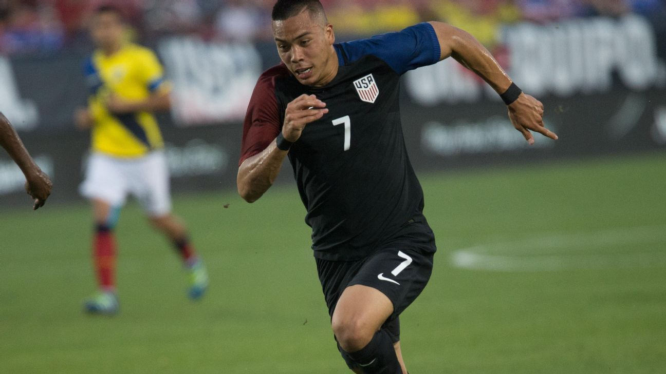 united states striker bobby wood making rapid progress bruno labbadia espn fc. Black Bedroom Furniture Sets. Home Design Ideas