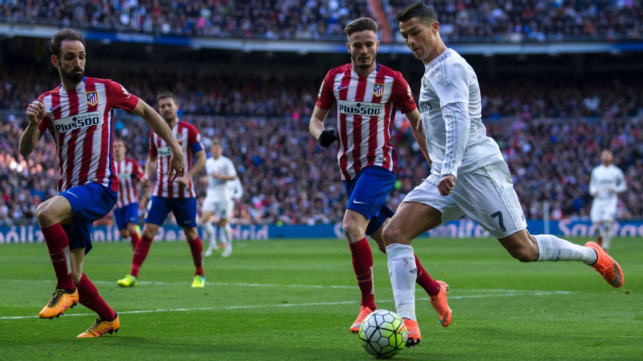 Ronaldo vs Atletico at Bernabeu